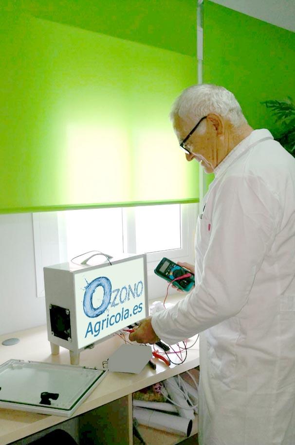 Aplicación de ozono a invernaderos