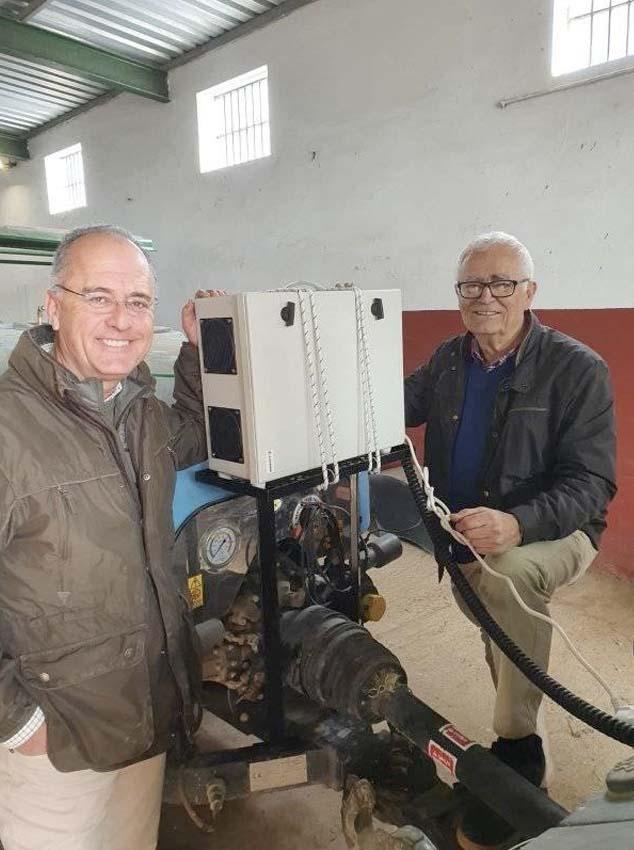Instalación tratamiento con ozono en Sevilla